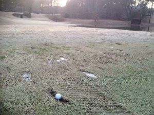 Bad lie bad luck, golf rules