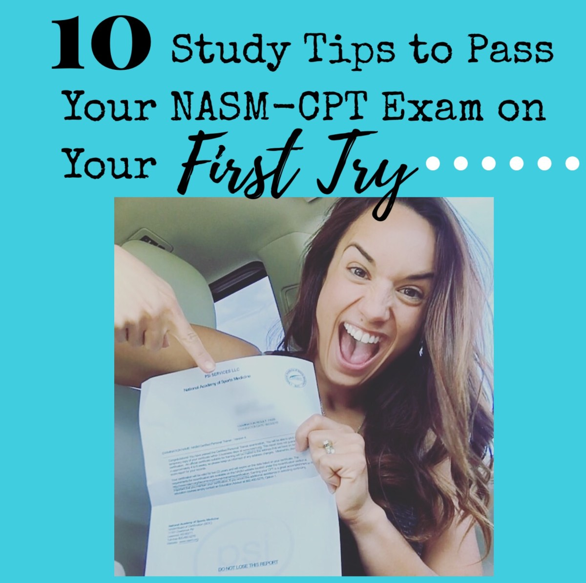 10 Study Tips to Pass Your NASM CPT Exam on Your First Try