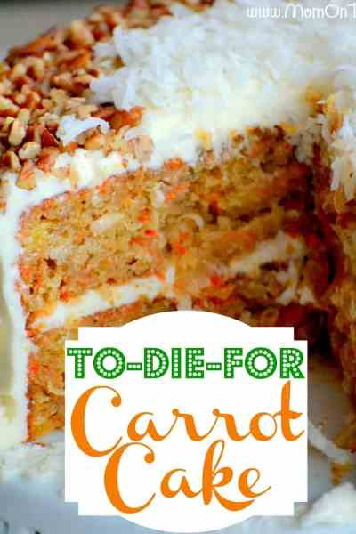 Carrot Cake {Mom on Timeout}