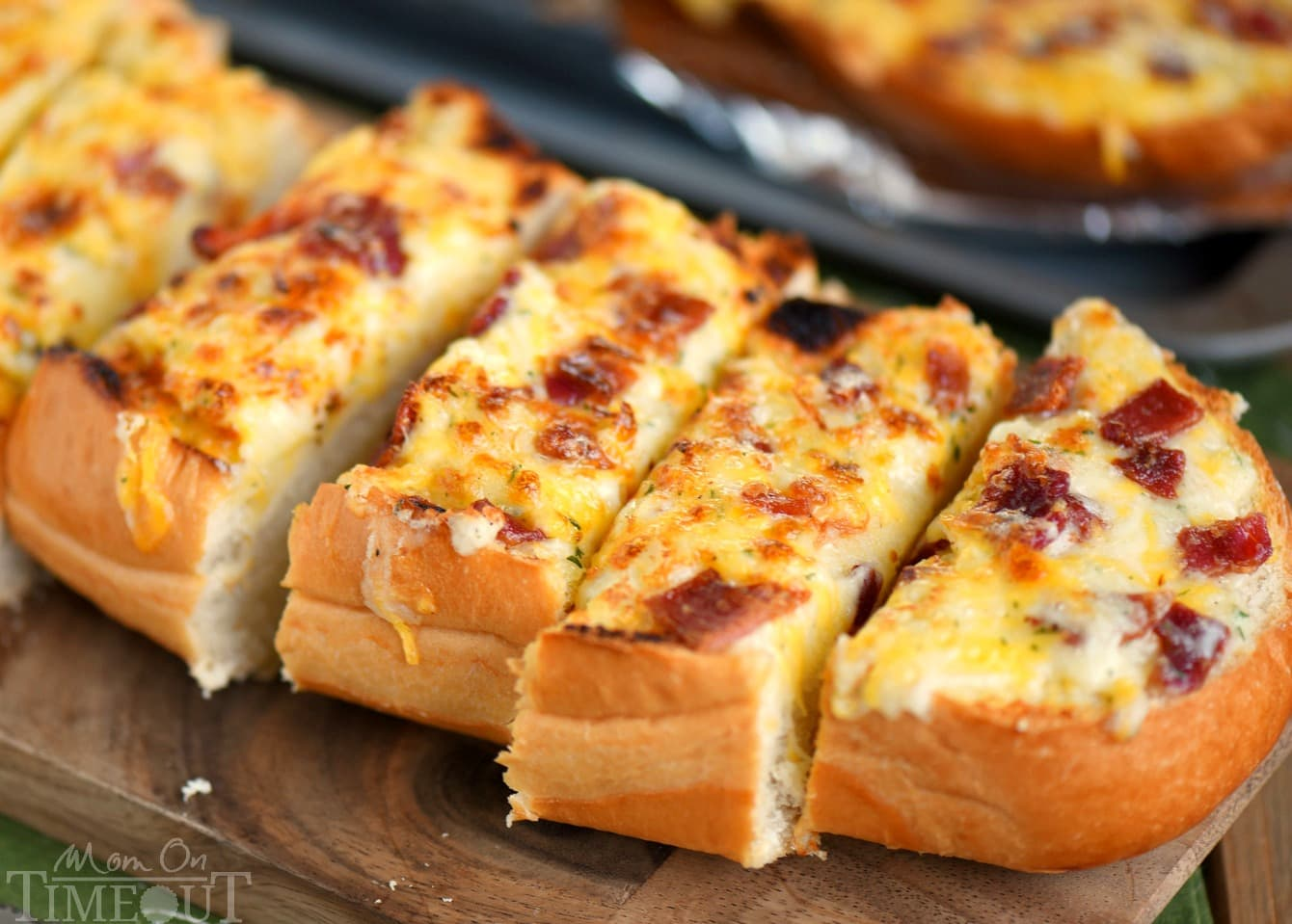 Image result for cheesy bacon ranch bread