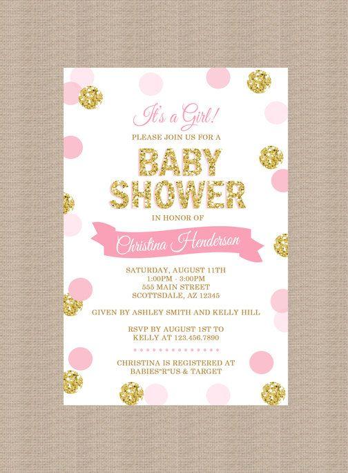 100 Stunning Printable Baby Shower Invitations Momooze