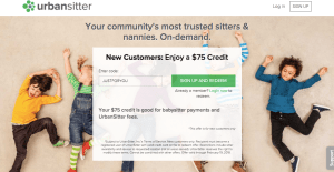 $75 off coupon UrbanSitter – ends Feb 18!