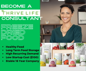 Thrive Life Consultant Ad