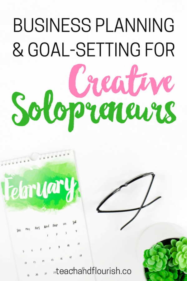 February Business Planning and Goal-Setting for Creative Solopreneurs