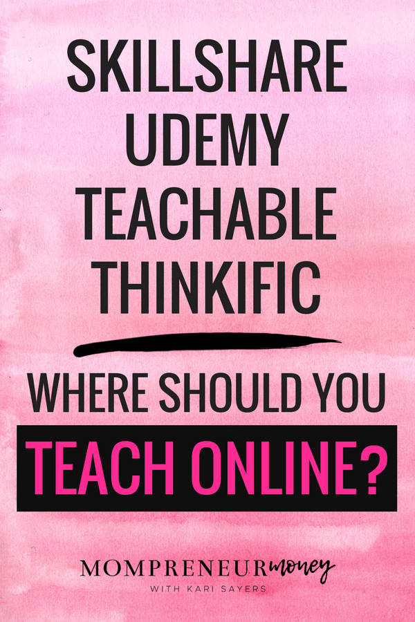 Where Should You Teach Online Classes? 4 Platforms I've Used