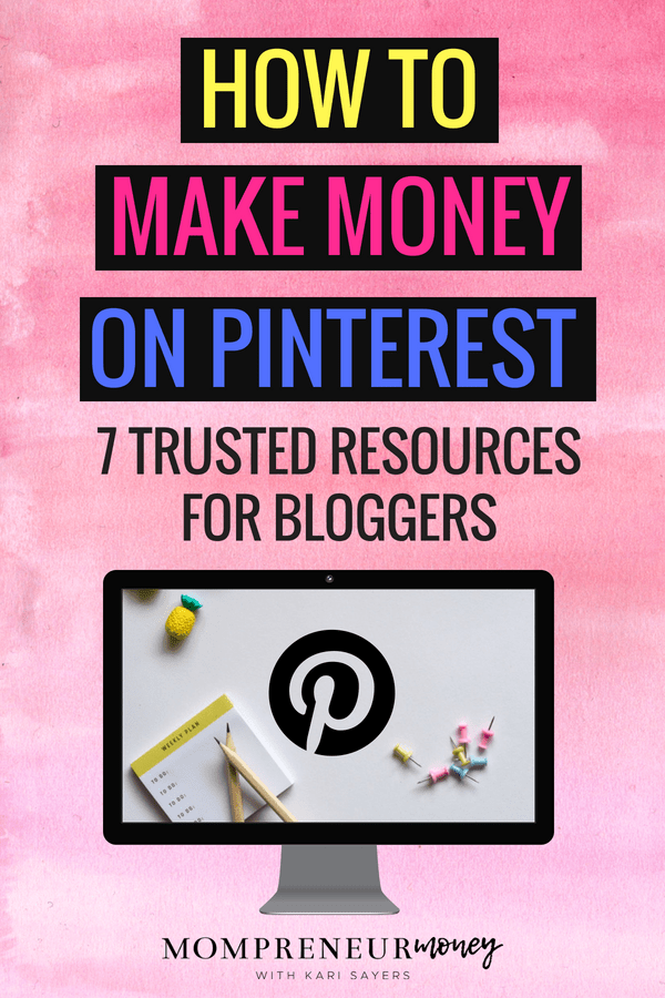 Ready to learn how to make money on Pinterest and stop pinning just for the sake of pinning? Follow the trusted advice of any of these 7 resources and create a successful pinning strategy.