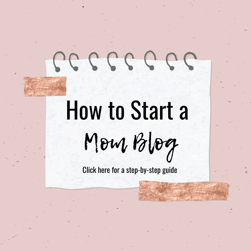 Guide to start a mom blog