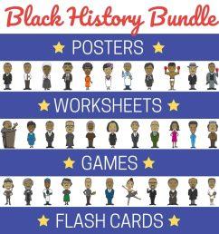 Black History Month Activities - Printable [ 1024 x 1024 Pixel ]