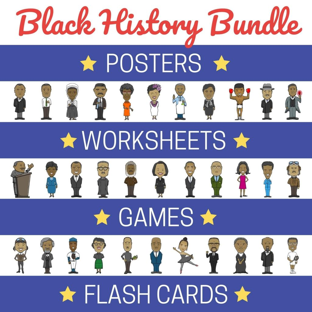 hight resolution of Black History Month Activities - Printable