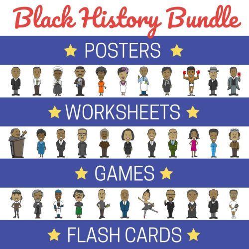 small resolution of Black History Month Activities - Printable