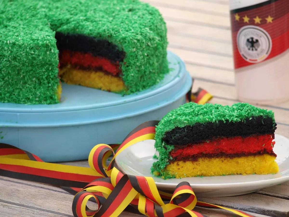 Deutschland Kuchen Der Hit auf jeder WM  Fuball  Party