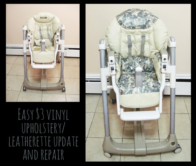 vinyl chair repair cost plus dining chairs upholstery easy 3 update for leatherette or moms
