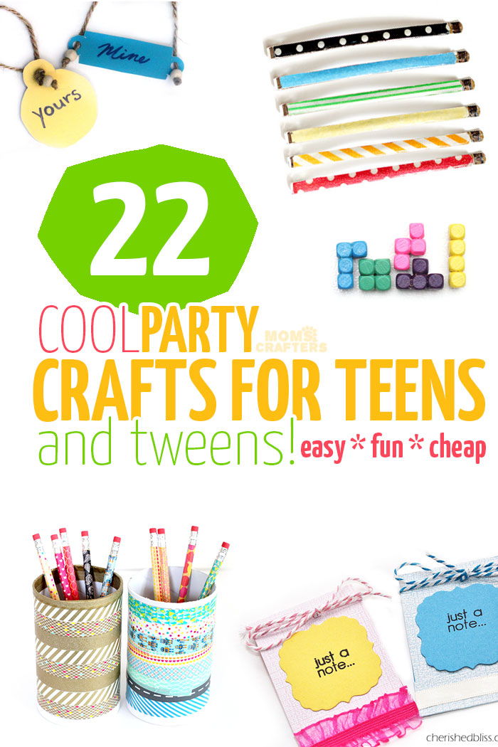 22 cool party crafts