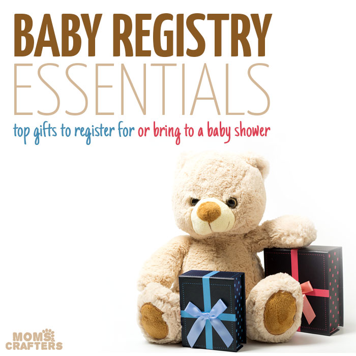 Baby Registry Essentials and gifts ideas! - Moms and Crafters