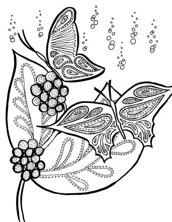 free printable butterfly coloring pages # 57