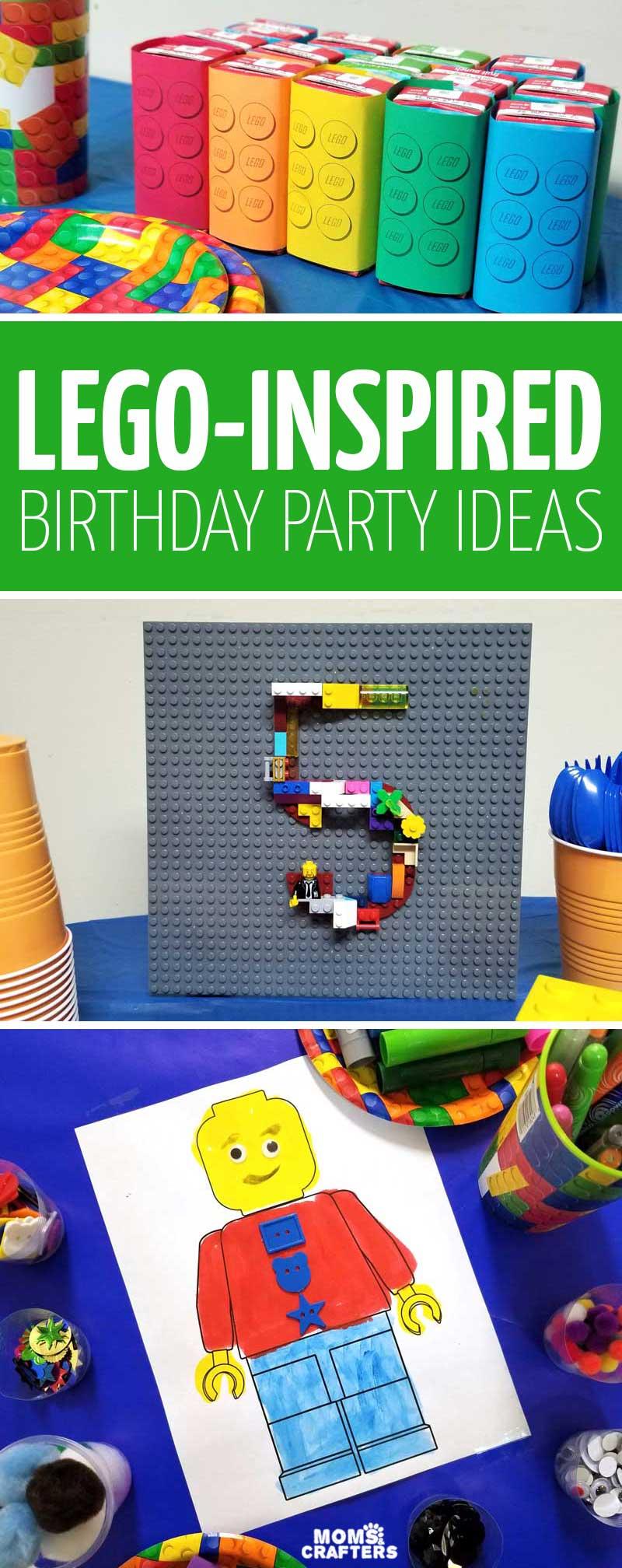 lego birthday party ideas activities