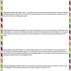 Holiday Decorative Chair Covers Unfinished Kitchen Table And Chairs Christmas Party Checklist (from Planning To Partying)