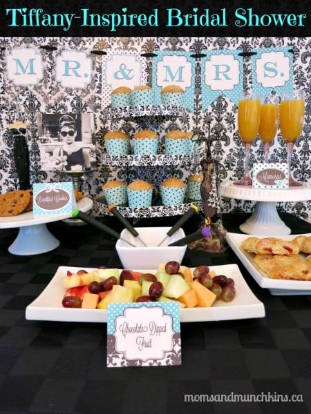 Breakfast At Tiffanys Bridal Shower Moms Amp Munchkins