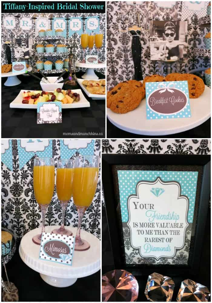 Breakfast At Tiffanys Bridal Shower Moms Amp Munchkins