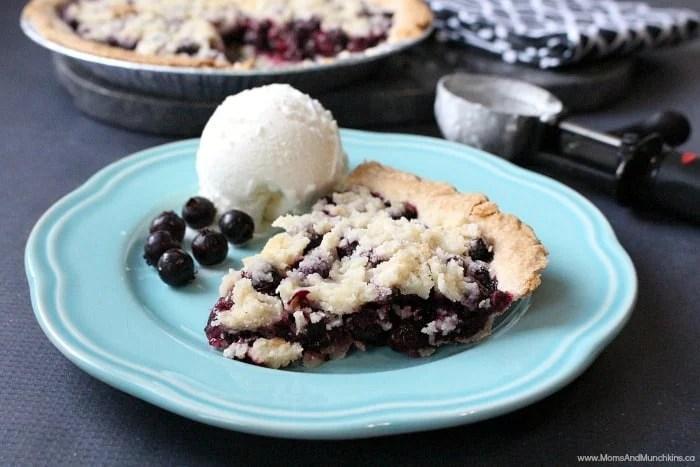 Saskatoon Berry Pie Easy Recipe Moms Amp Munchkins