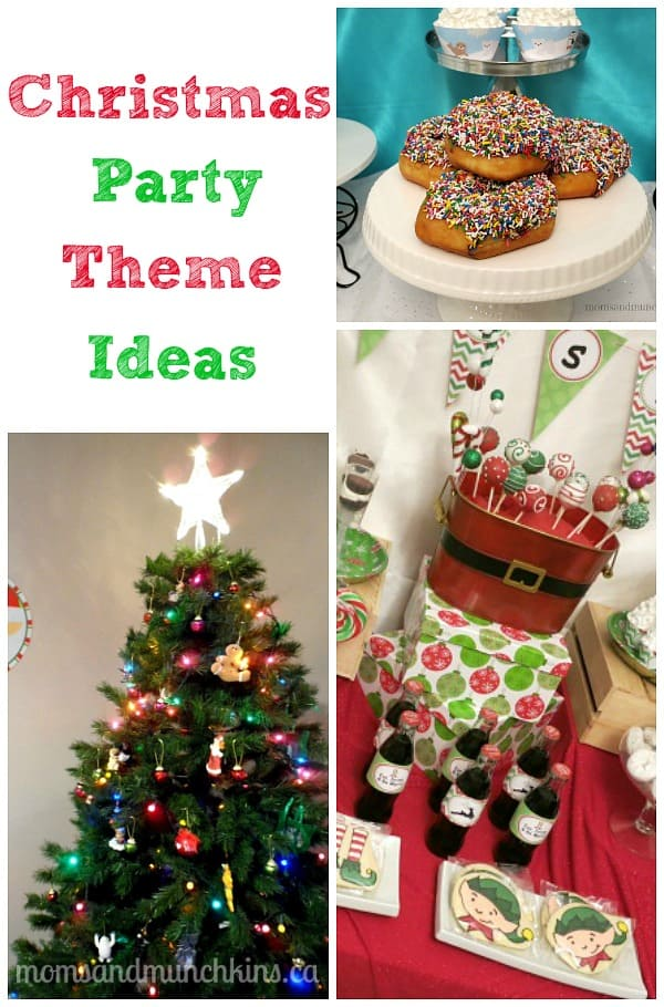 christmas party themes moms
