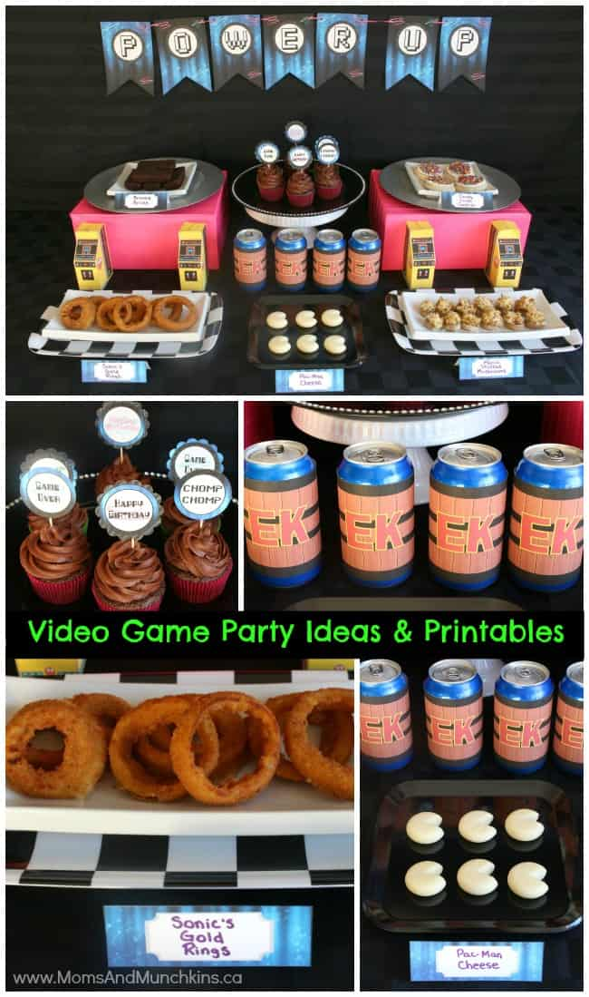 With so many games, you can do everything from slay dragons to build an entire city f. Retro Video Game Party Ideas - Moms & Munchkins