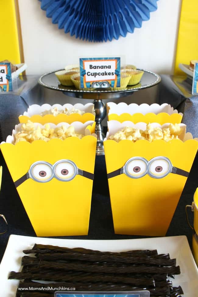 Minions Birthday Party Ideas  Moms  Munchkins