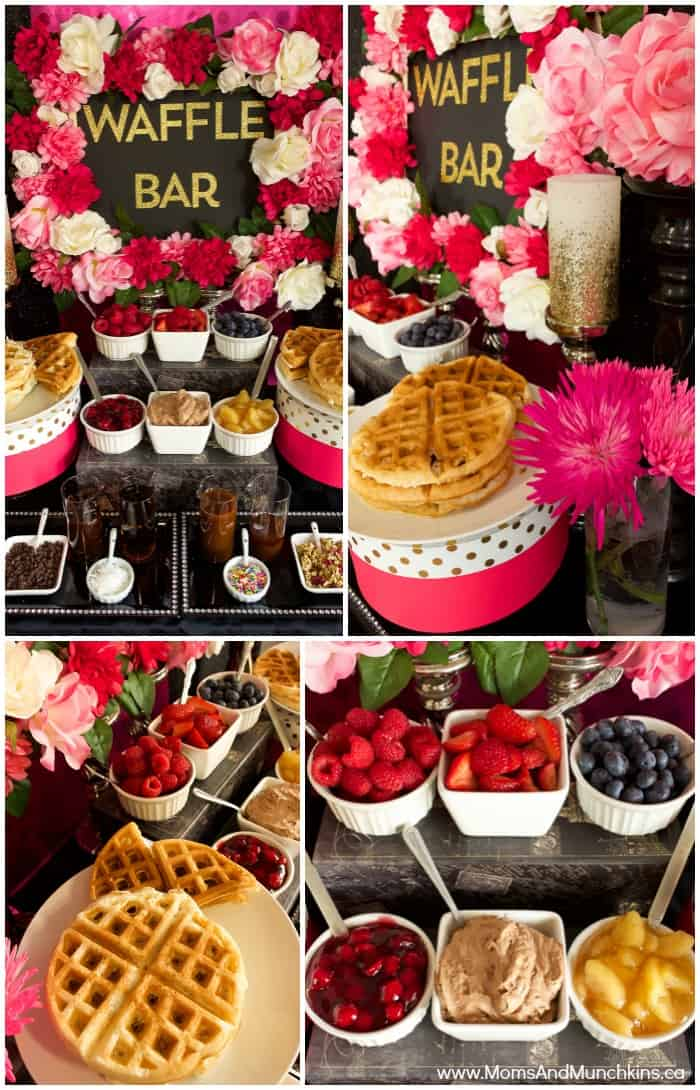 Waffle Bar Ideas and Recipes  Moms  Munchkins