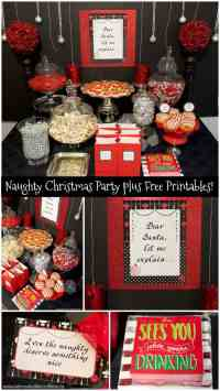 naughty christmas party ideas - Design Decoration