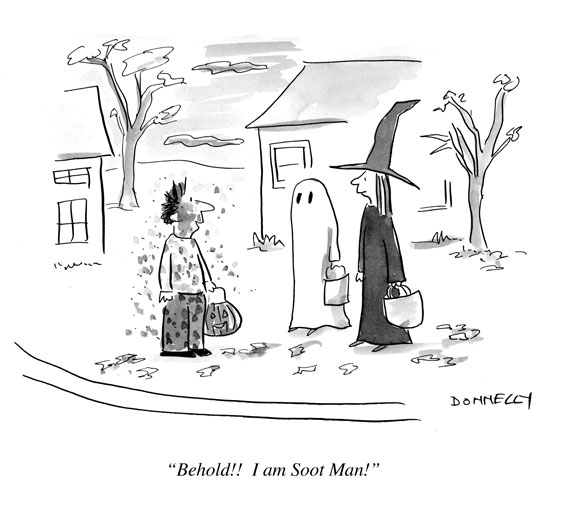 Soot Cartoon for Halloween