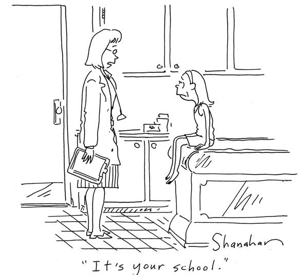 School Health Cartoon