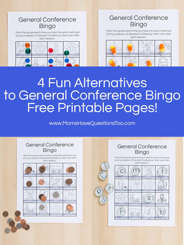general conference bingo activity