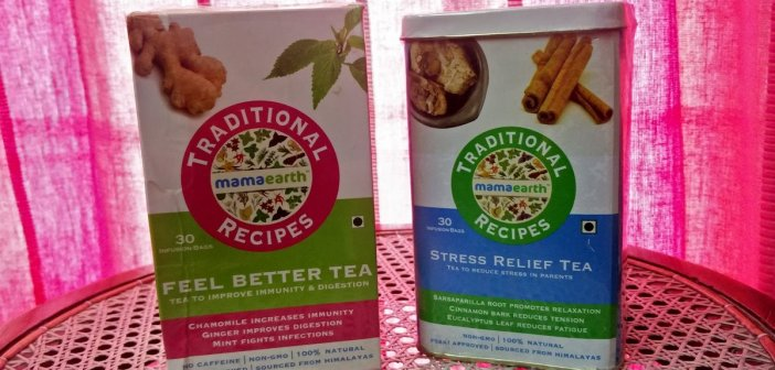 Mamaearths' traditional recipes herbal teas