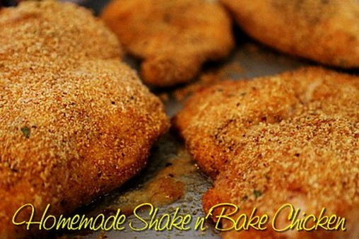 Homemade Shake n Bake Chicken