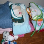 Declutter Challenge Week 15: More Kids Clothes to Sell at a Garage Sale
