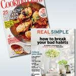 Cooking Light and Real Simple Magazine 82% Off