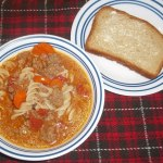 Hamburger Soup – Gluten Free and Dairy Free