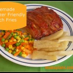 Freezer Friendly Homemade French Fries
