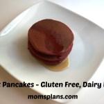 Beet Pancakes:  Gluten Free, Dairy Free