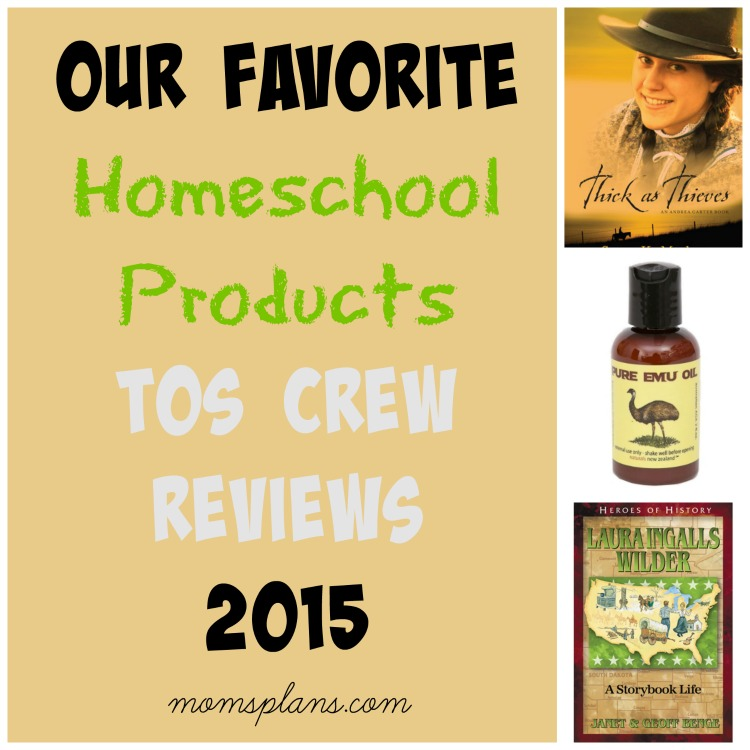 Favorite TOS Crew Products 2015