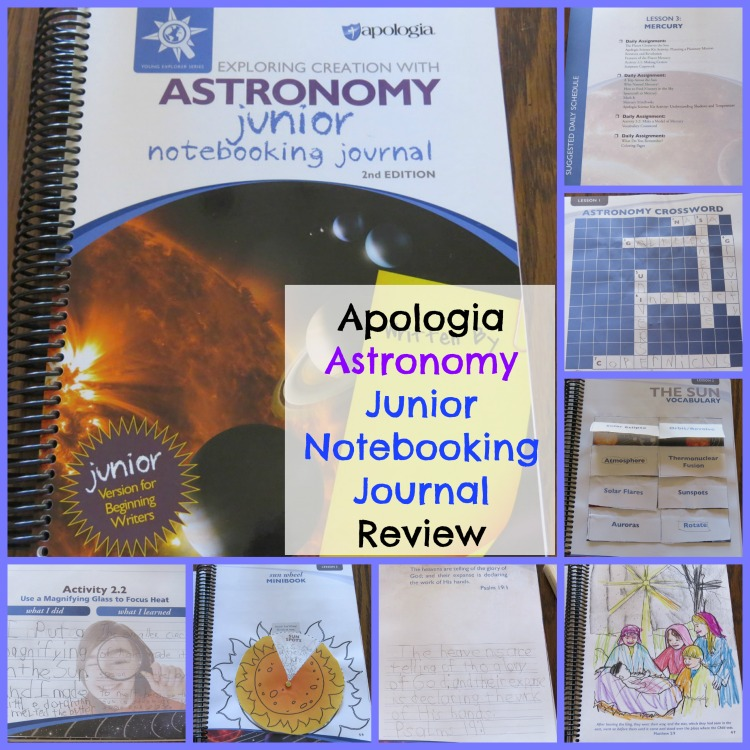 Apologia Astronomy Junior Notebooking Journal
