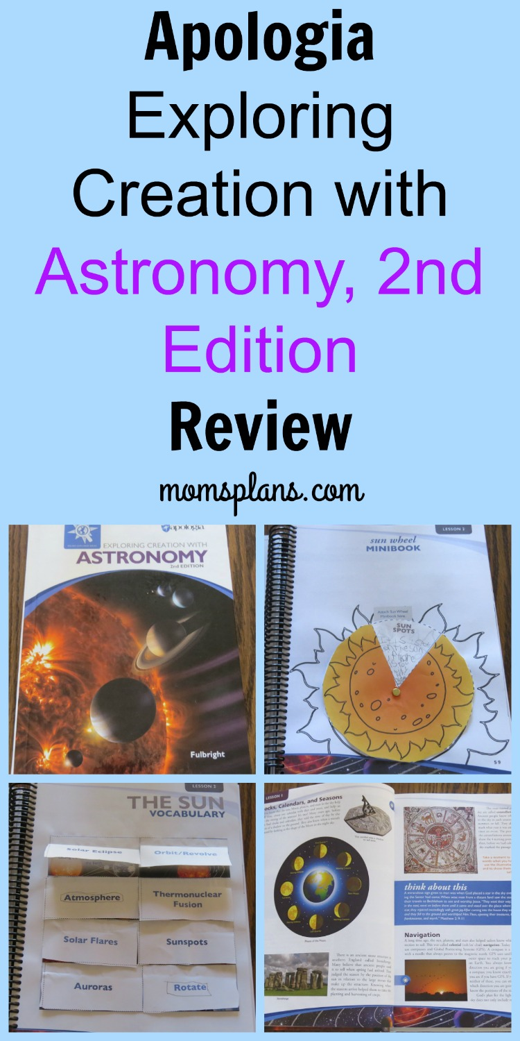 Apologia Exploring Creation with Astronomy, 2nd Ed. Review