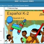 Homeschool Crew Review: Middlebury Interactive Languages Elementary Spanish 1 Grades K-2