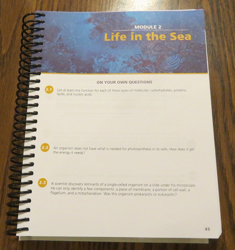 Homeschool Crew Review: Apologia Marine Biology 2nd Edition (High ...