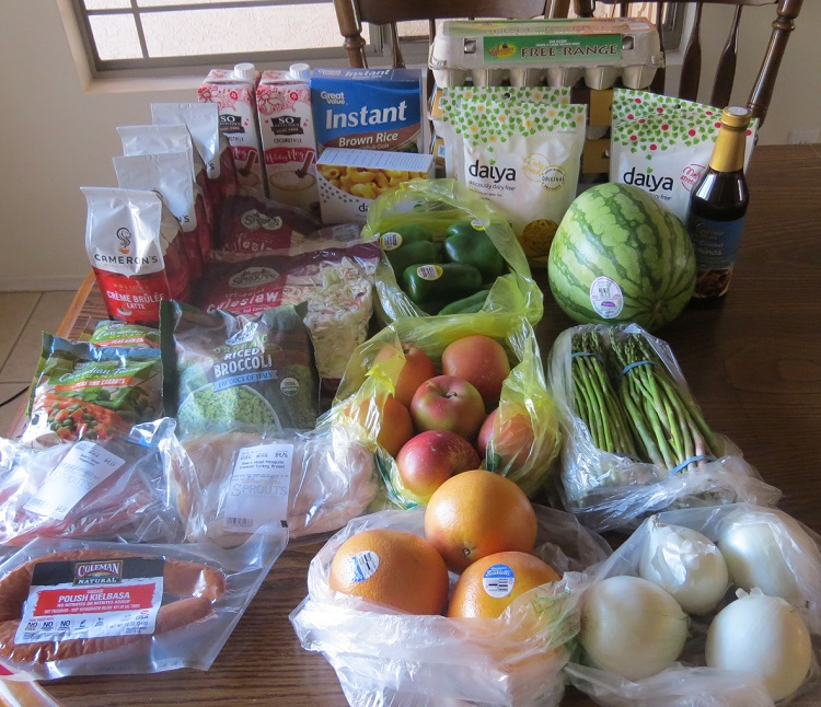 Grocery Report, December 7 - 13, 2017 - Mom's Plans