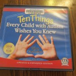 Ten Things Every Child with Autism Wishes You Knew by Ellen Notbohm: A Book Review