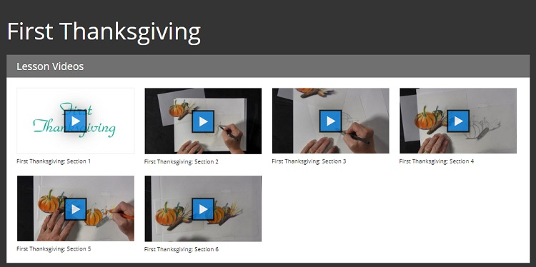 Drawing Program Lessons