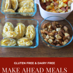 Meals and Snacks I Made Ahead: Meal Prep & Menu Plan for October 27, 2019