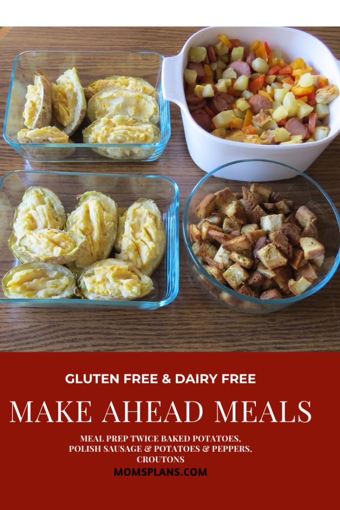 Meals and Snacks I Made Ahead October 27, 2019