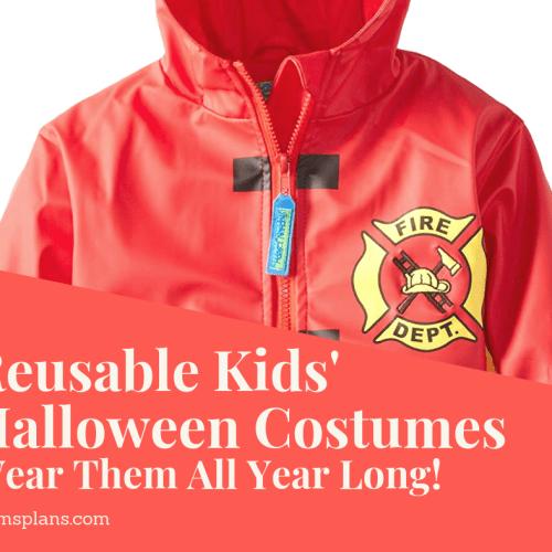 Reusable Kids' Halloween Costumes
